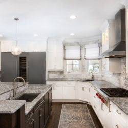 Custom kitchen remodel by Lynch Design Build
