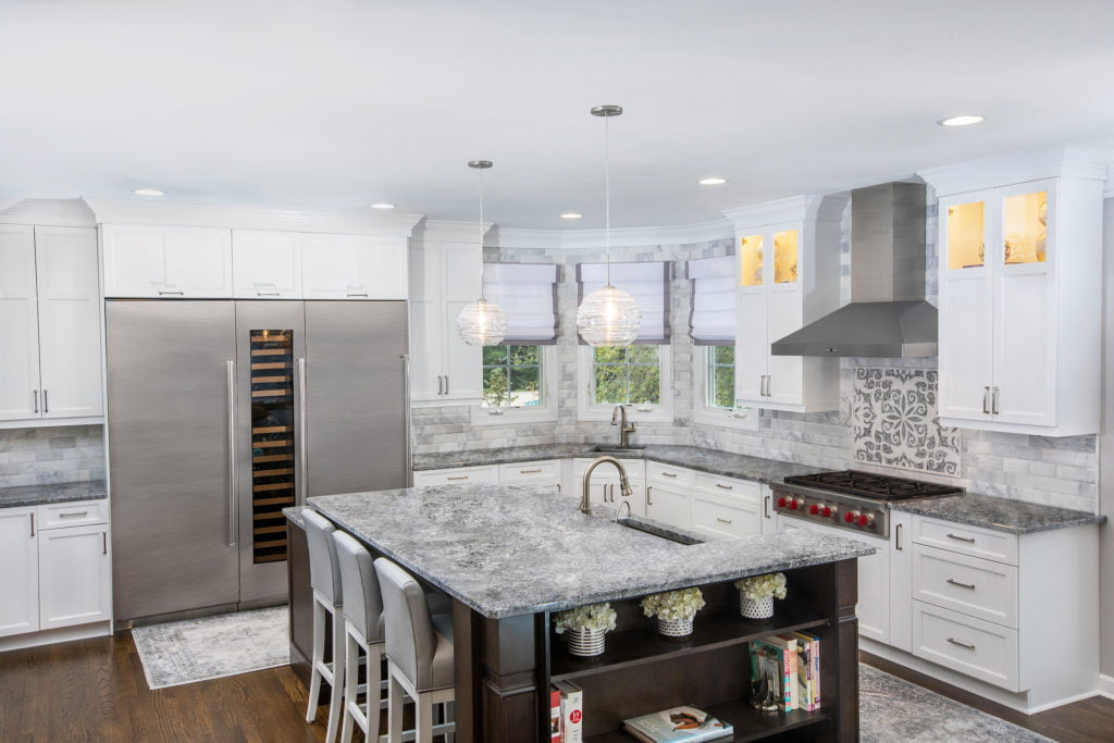 Custom kitchen remodel by Lynch Design Build