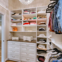 Walk in closet remodel by Lynch Design Build
