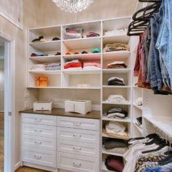 Walk in closet remodel by Lynch Design Build