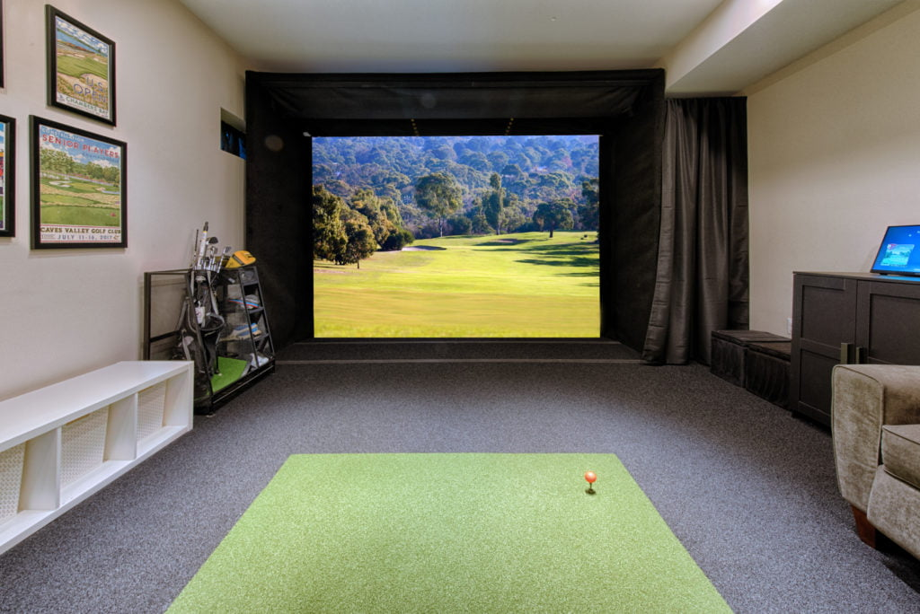 Specialty home project with a custom home theater