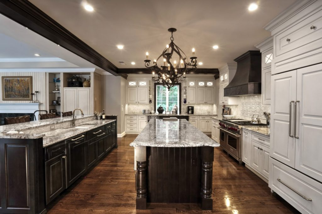 Renovated modern kitchen