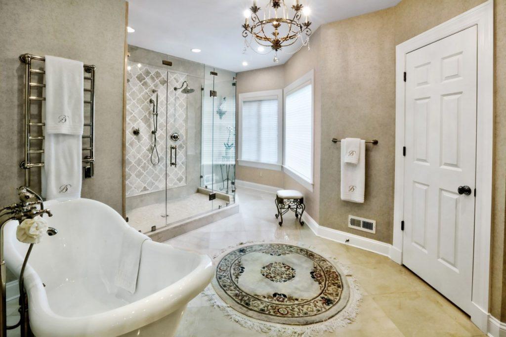 master bathroom remodel by the Lynch Design | Build team