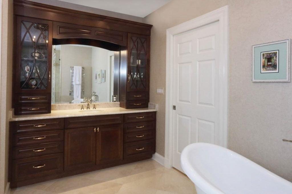 bathroom remodel by the Lynch Design | Build team